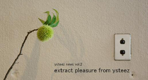 CAFÉ STYLE extract pleasure from ysteez news vol.2